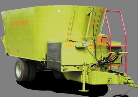 Измельчители-смесители-раздатчики кормов (ИСРК-12)